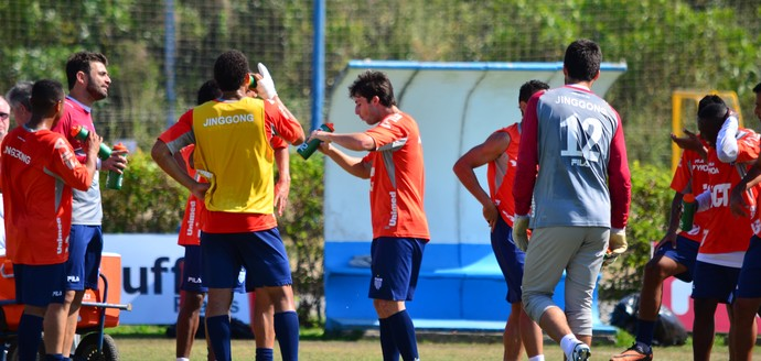 Treino Avaí CFA (Foto: Diego Madruga)