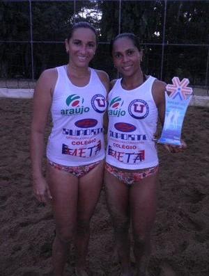 Erlane e Maria Eliane disputam competição no Pará. (Foto: Divulgação/arquivo pessoal)