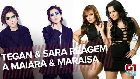 Tegan and Sara, duo feminino do Lolla, ouve 'feminejo' brasileiro e elogia Maiara & Maraisa; VÍDEO