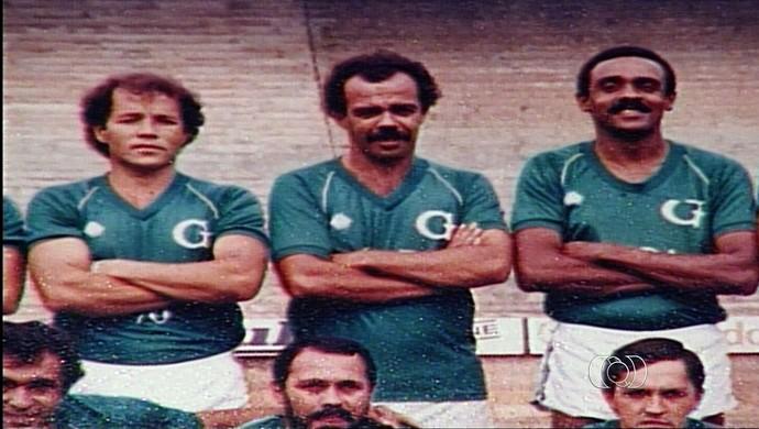 Lincoln e Macalé, ex-jogadores do Goiás (Foto: Reprodução/TV Anhanguera)