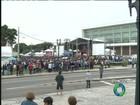 Missa de Natal reúne milhares de fiéis no Centro Cívico de Curitiba