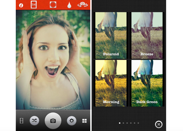 O app Retrica é um dos melhores para fazer fotos vintages em alta resolução (Divulgação/ Retrica)