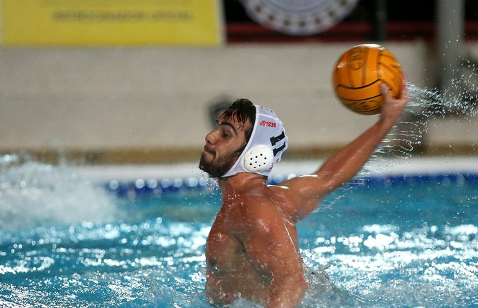 Paulistano x Sesi-SP Liga Nacional de polo aquático Gustavo Grummy (Foto: Satiro Sodré / SSPress)