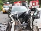 Acidente na RSC-453 deixa feridos na Serra do RS neste sábado