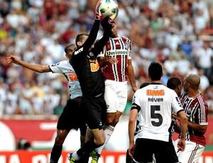 victor atlético-mg fluminense engenhão brasileirão (Foto: Bia Figueiredo / Futura Press)