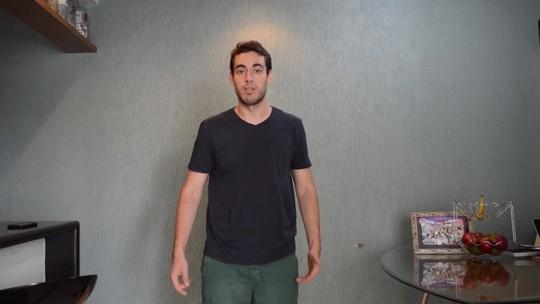 Advogado se exercita com a ajuda de aplicativo e seca 27kg em seis meses