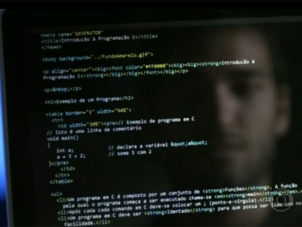 Código usado no primeiro capítulo de Geração Brasil foi criado pelo professor Márcio Pinho (Foto: TV Globo)