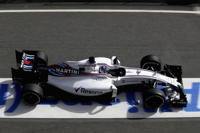 FW38, o carro da Williams para a temporada 2016 da Fórmula 1 (Foto: Getty Images)