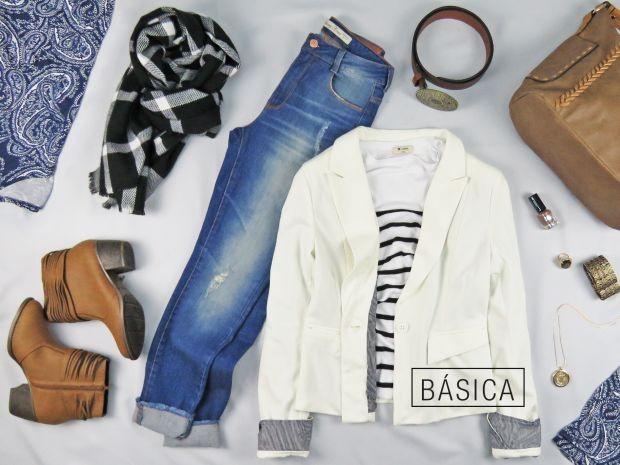 a3ea972ad Loja Hering: calça jeans R$99,99   blusa listrada R$89,99   cinto marrom  R$39,99   blusa estampada R$59,90   lenço em lã R$69,99   Loja Flawless:  colar ...