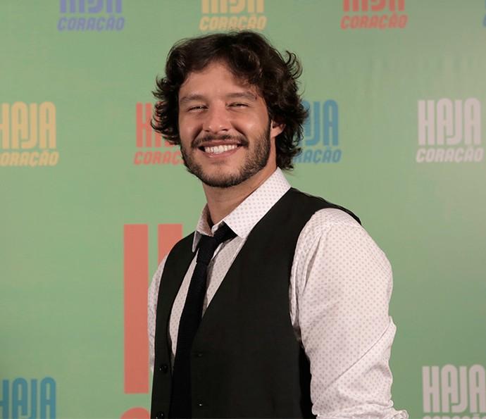 Nando Rodrigues será Henrique Macedo, um cara que vai se apaixonar por Penélope, personagem de Carolina Ferraz (Foto: Ellen Soares/ Gshow)