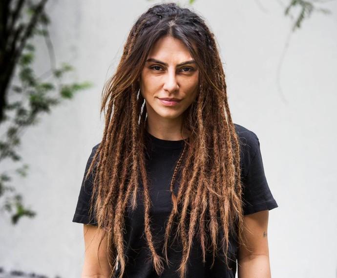 Cleo Pires revela novo visual com dreadlocks nos cabelos (Foto: João Miguel Junior / TV Globo)