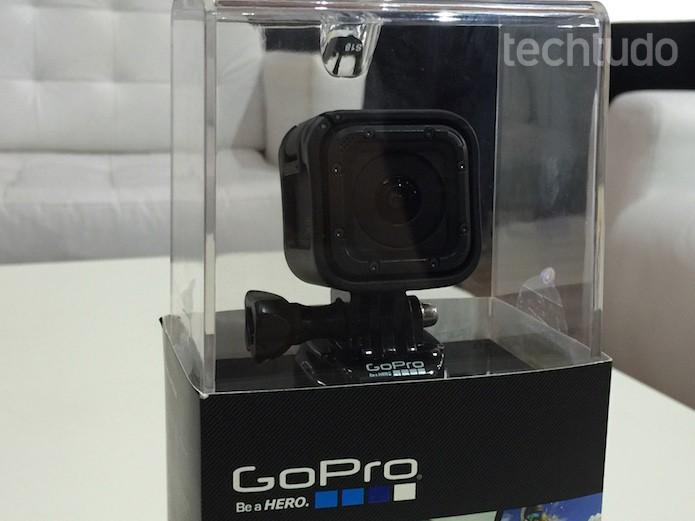 GoPro Hero4 Session (Foto: Victor Teixeira/ TechTudo)