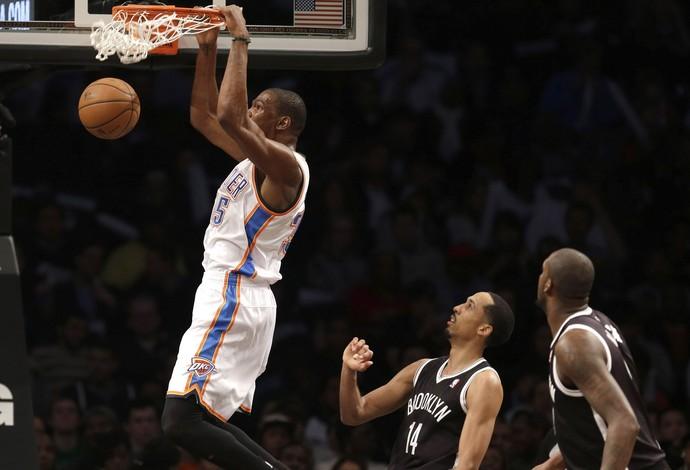 Kevin Durant Oklahoma City Thunder NBA (Foto: Agência AP)