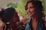 Lucy Alves grava 1ª cena de briga da carreira com Camila Pitanga, e atrizes defendem amor