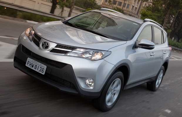 Toyota RAV4 2013 (Foto: Divulgação)