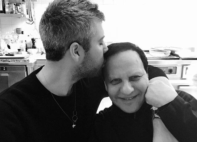 Brandon Maxwell foi um dos que publicou uma série de imagens com Alaïa (Foto: reprodução/instagram)