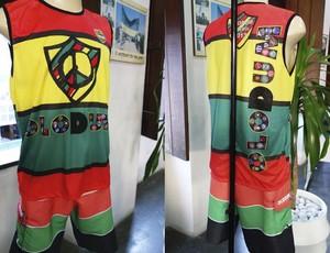 olodum camisa nova (Foto: Egi Santana/G1)