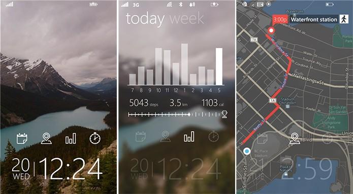 Tetra Lockscreen é um aplicativo da Microsoft que adiciona funcionalidades à tela de bloqueio do Windows Phone (Foto: Divulgação/Windows Phone Store)