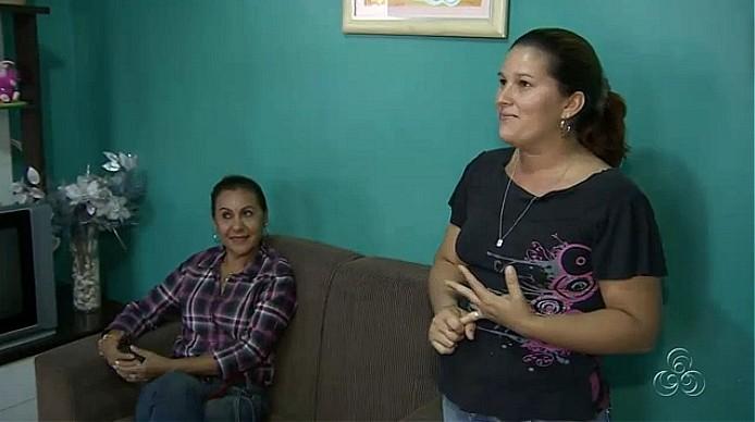 Os valores se inverteram, diz a neta da avó moderna (Foto: Amazônia TV)