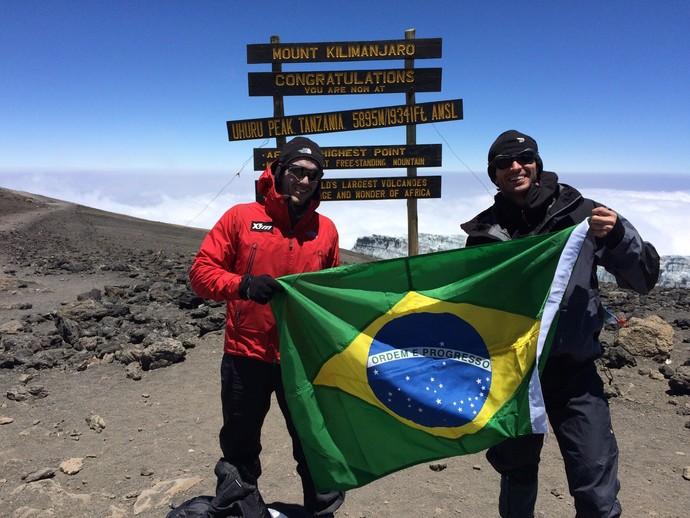 euatleta 7 cumes no inverno kilimanjaro (Foto: Arquivo pessoal)