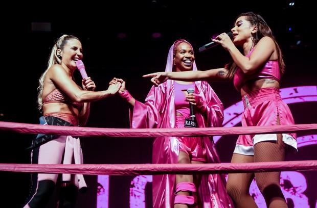 Anitta, Claudia Leitte e Karol Conká (Foto: Manuela Scarpa/Brazil News)