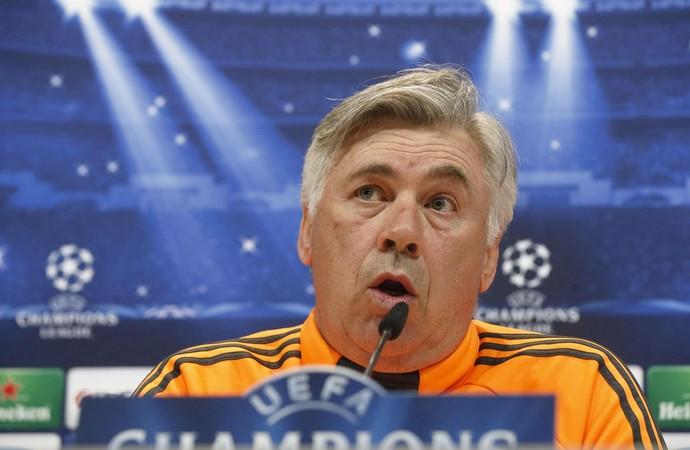 Real Madrid Coletiva Carlo Ancelotti  (Foto: EfeServicios)