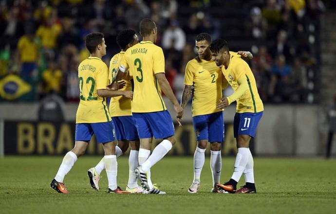 Gabriel Gabigol gol Brasil Panamá (Foto: Reuters)