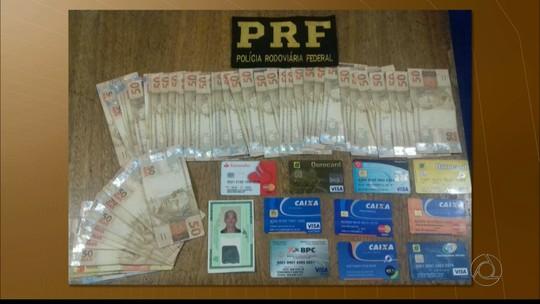 Suspeito de estelionato é preso pela PRF na BR-101, no Litoral Sul da PB