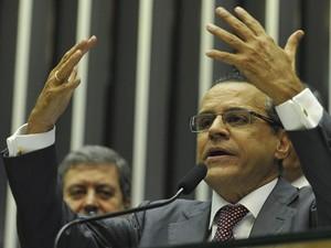 O presidente da Câmara, Henrique Eduardo Alves (PMDB-RN) (Foto: Antonio Cruz/ABr)