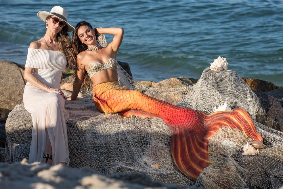 Joyce e Ritinha arrasam em sessão de fotos (Foto: Fábio Rocha/Gshow)