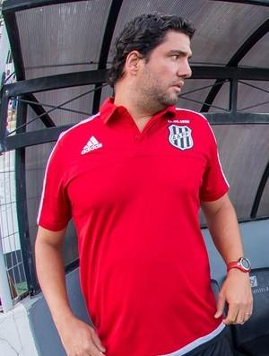 Felipe Moreira, técnico Ponte Preta (Foto: Fabio Leoni/ PontePress)