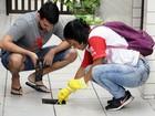 Mutirão contra a dengue visita mais de mil imóveis na Aparecida, em Santos