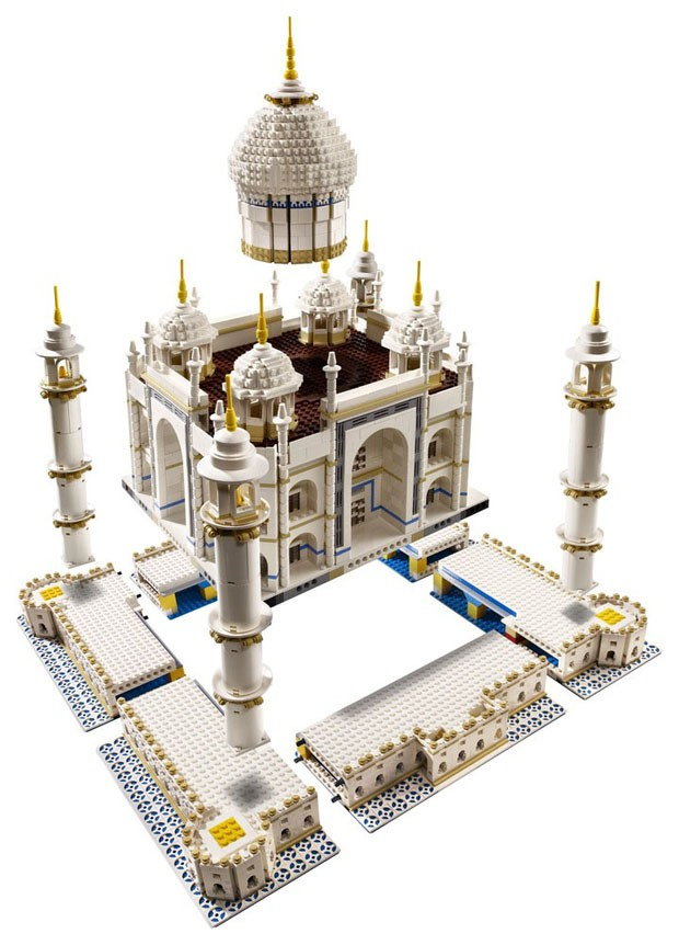 LEGO lança kit com 5.923 peças para construir Taj Mahal (Foto: Divulgação)