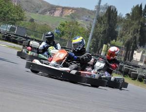 Primeiro dia da etapa de setembro do Estadual RJ de Kart Rio Sul foi de disputas pela categoria Indoor (Foto: Gustavo Siqueira/Art Mídia)