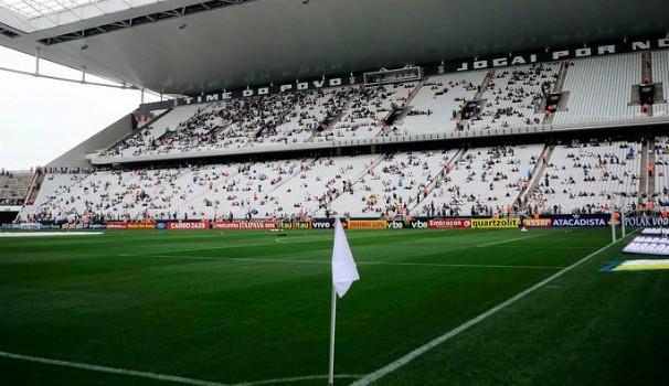 Jogão da Libertadores será na Arena do Corinthians (Foto: Marcos Ribolli)