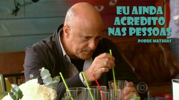 Eu acredito nas pessoas! (Foto: Malhação / TV Globo)