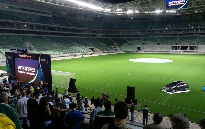 evento Arena Palmeiras (Foto: Felipe Zito)