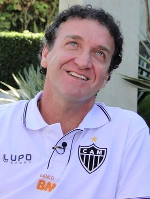 Cuca entrevista Atlético-MG (Foto: Léo Simonini)