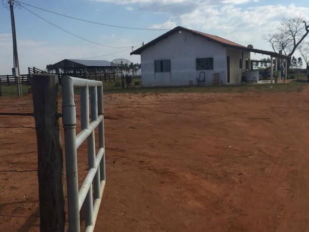 Local onde ocorreu ataque aos indígenas na última segunda-feira (11) (Foto: Gabriela Pavão/G1 MS)