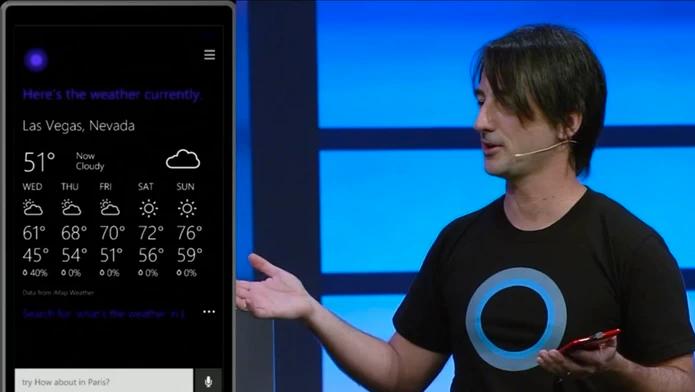 Cortana pode aparecer no Windows em breve (Foto: Divulgação/Microsoft)