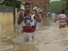 Quinze cidades de PE estão em estado de calamidade por causa da chuva