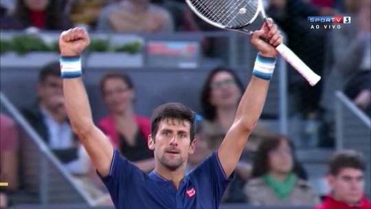 Djokovic passa por Lopez e pega Nishikori nas quartas em Madrid