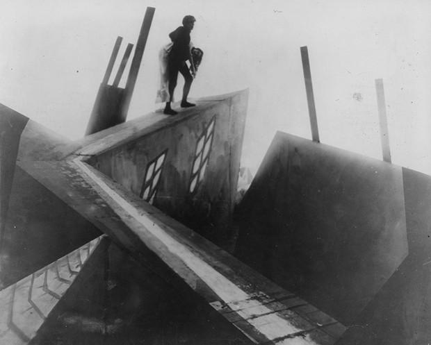 Gabinete do Dr. Caligari (Foto: Reprodução)