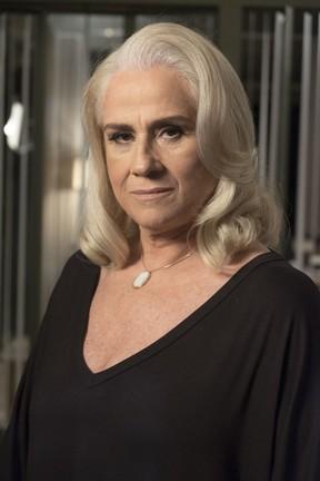 Vera Holtz como a personagem Magnólia em A Lei do Amor (Foto: Renato Rocha Miranda/Globo)