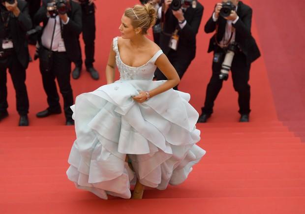Blake Lively no Festival de Cannes (Foto: Antonin THUILLIER /AFP)