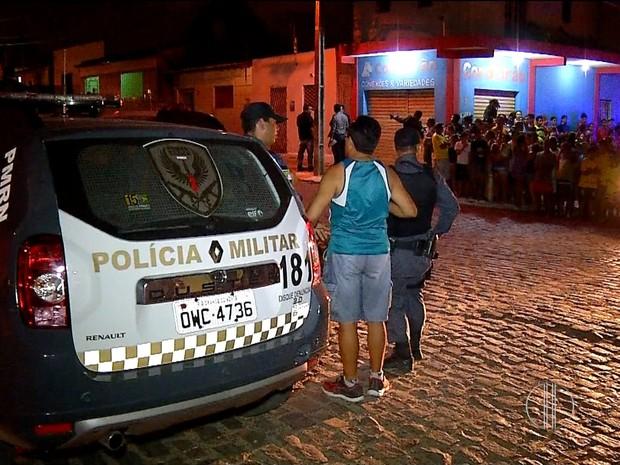 Crime aconteceu em cruzamento de ruas no bairro Pajuçara, na Zona Norte de Natal (Foto: Reprodução/Inter TV Cabugi)