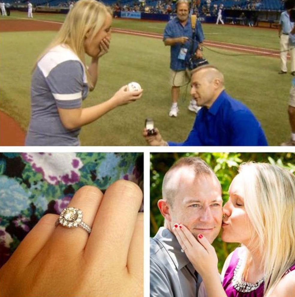 Melissa e Cameron vão se casar daqui a algumas semanas (Foto: Cortesia de Melissa Dohme)