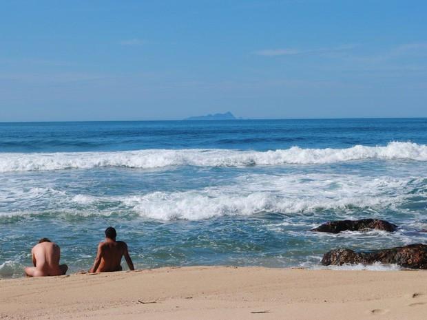 Estado de São Paulo não tem praias onde a prática de nudismo é oficializada. (Foto: Divulgação/Brasil Naturista)