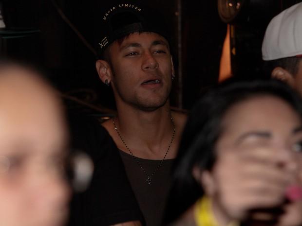 Neymar em show em São Paulo (Foto: Cláudio Augusto/  Foto Rio News)
