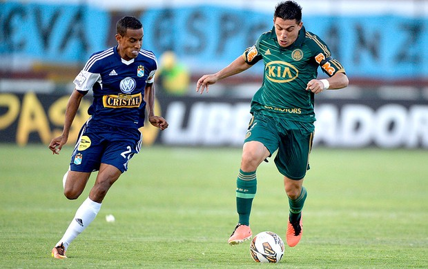 Ayrton jogo Sporting Palmeiras (Foto: AFP)